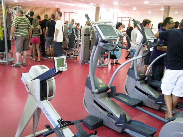 inauguration salle de musculation