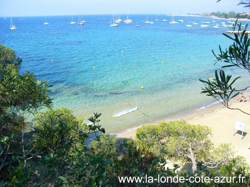 Les plages de la londe les maures - Office du tourisme de la londe les maures ...