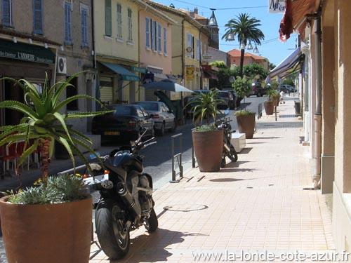 Centre ville de la londe les maures c te d 39 azur - La londe les maures office du tourisme ...
